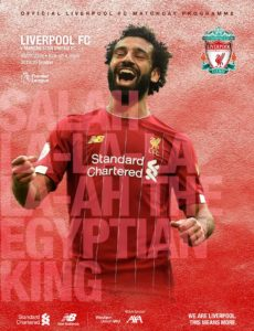 Liverpool FC Programmes – Liverpool v Manchester United – 19 January 2020