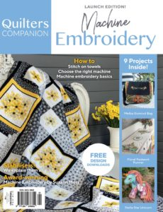 Machine Embroidery – Issue 1 2019