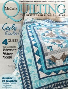 McCall's Quilting – March-April 2020
