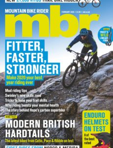 Mountain Bike Rider – February 2020