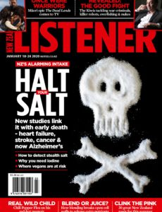 New Zealand Listener – January 18, 2020