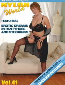 Nylons World Adult Fetish Photo Magazine – January 2020