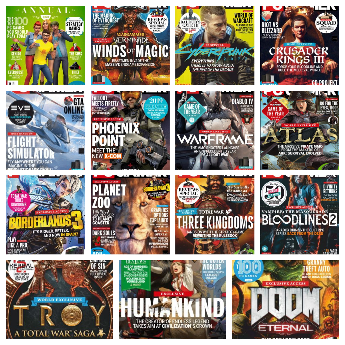 PC Gamer UK – 2019 Full Year Issues Collection