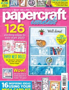 Papercraft Essentials – Issue 183 – January 2020