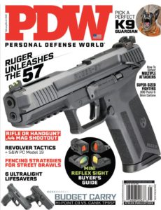Personal Defense World – Issue 225 – February-March 2020