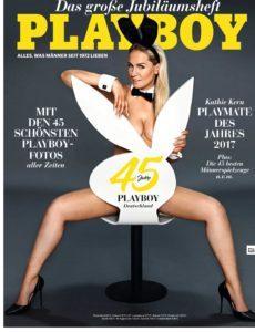 Playboy (Deutsche Ausgabe) Magazin Juli No 07 2017