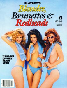 Playboy Special Editions – Blondes, Brunettes & Redheads 1985