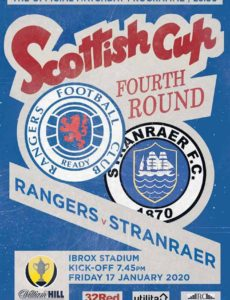 Rangers Football Club Matchday Programme – 17 January 2020