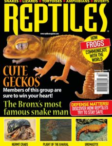 Reptiles – September-October 2019