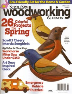 ScrollSaw Woodworking & Crafts – Spring 2020
