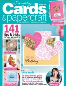 Simply Cards & Papercraft – Issue 201 – January 2020