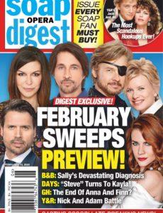 Soap Opera Digest – February 10, 2020
