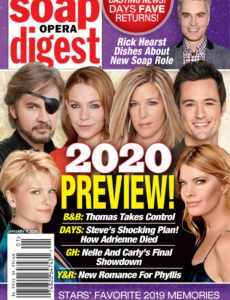 Soap Opera Digest – January 06, 2020