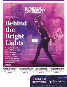 SportsBusiness Journal – 13 January 2020