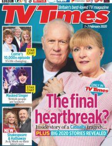 TV Times – 01 February 2020