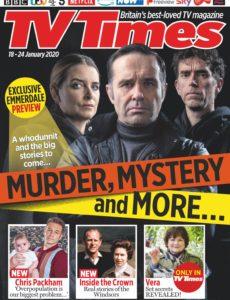 TV Times – 18 January 2020