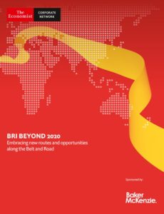 The Economist (Corporate Network) – BRI Beyond 2020, Embracibg new routes and opportunities along…
