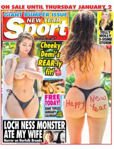 The Sunday Sport – December 29, 2019