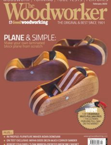 The Woodworker & Woodturner – February 2020