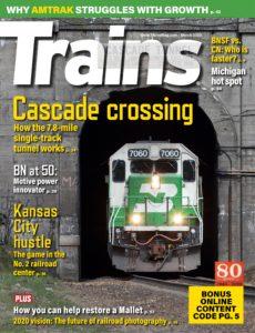 Trains – March 2020