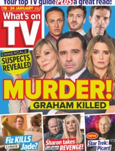 What's on TV – 18 January 2020