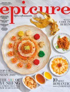 epicure Singapore – January 2020
