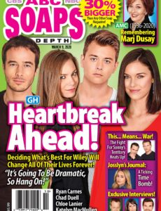 ABC Soaps In Depth – March 09, 2020