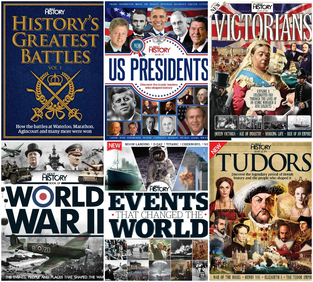 All About History – 20 Books Collection
