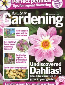 Amateur Gardening – 29 February 2020
