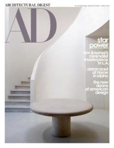 Architectural Digest USA – March 2020