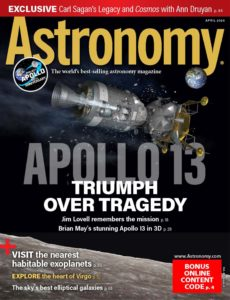 Astronomy – April 2020