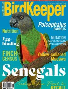 Australian Birdkeeper – February-March 2020