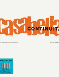 Casabella N 906 – Febbraio 2020