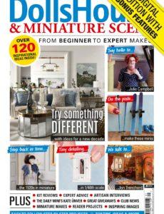 Dolls House & Miniature Scene – Issue 308 – January 2020