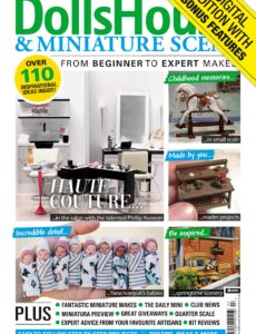 Dolls House & Miniature Scene – Issue 310 – March 2020