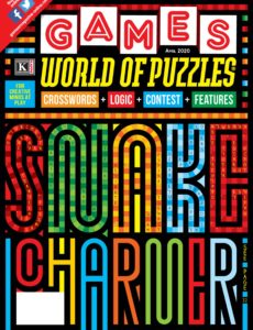 Games World of Puzzles – April 2020