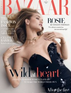 Harper's Bazaar Australia – March 2020