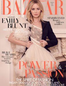 Harper's Bazaar UK – March 2020