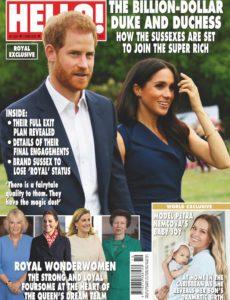 Hello! Magazine UK – 09 March 2020