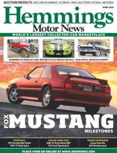Hemmings Motor News – April 2020