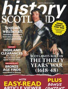 History Scotland – March-April 2020
