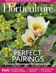 Horticulture – March-April 2020