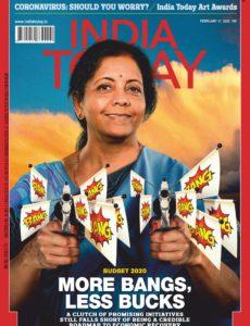 India Today – February 17, 2020