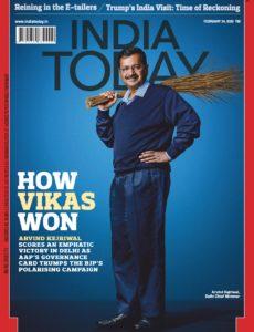 India Today – February 24, 2020