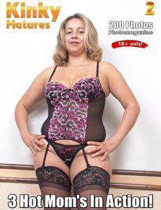 Kinky Matures Adult Photo Magazine – Volume 2