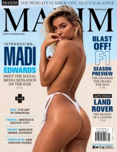 Maxim Australia – March 2018