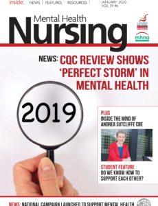Mental Health Nursing – December 2019 – January 2020