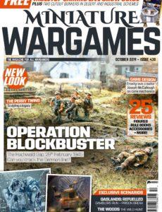Miniature Wargames – Issue 438 – October 2019