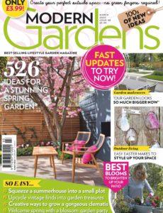 Modern Gardens – March 2020