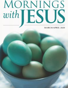 Mornings with Jesus – March-April 2020